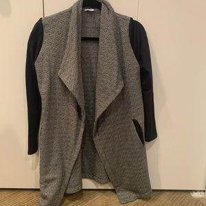 Splendid, XS, open cardigan blazer